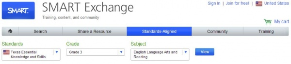 SMART Exchange Standards Search